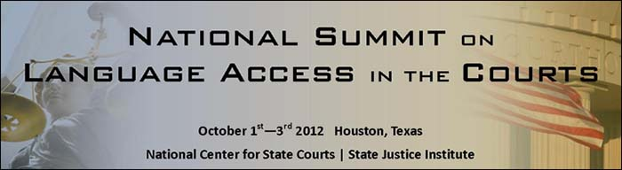 National Summit on Language Access in the Courts