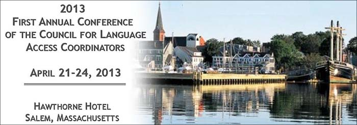 First Annual Conference of the Council of Language Access Coordinators