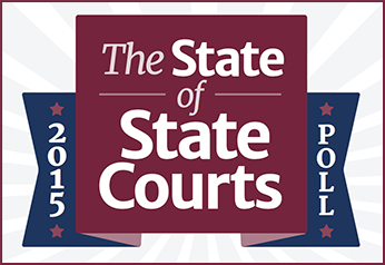 Logo for 2015 State of the State Courts Poll