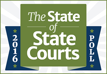 2016 State of the State Courts Survey logo