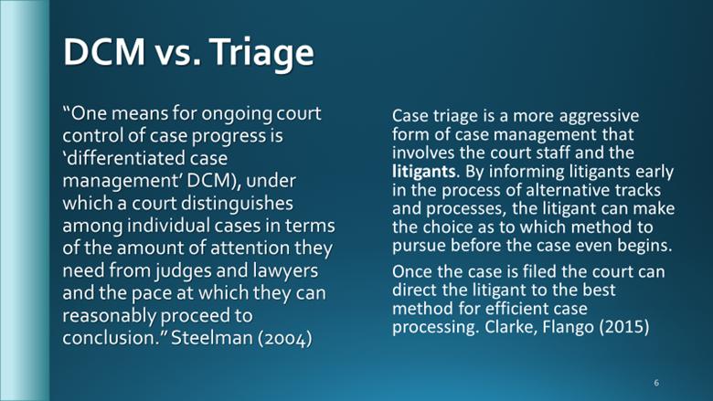 DMC vs Triage