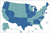 How states set salaries map image