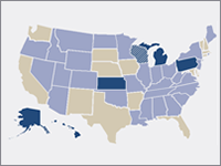 Salary reductions map image