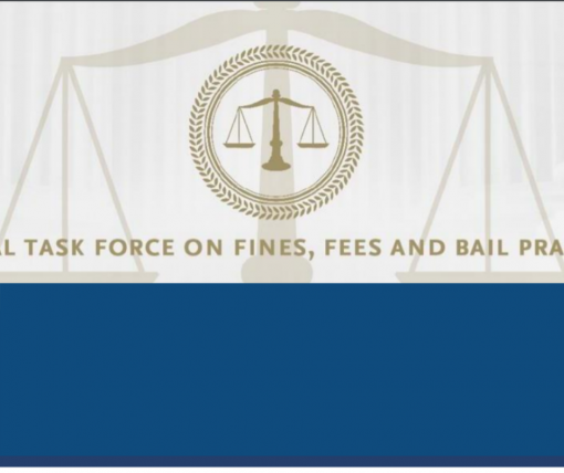 Fines, Fees and Bail logo