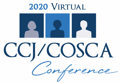 CCJ COSCA 2020 Conference Logo