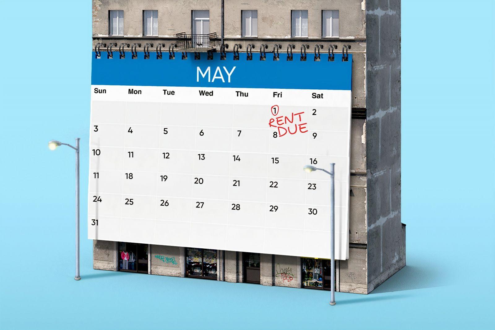 Rent Due Calendar banner image