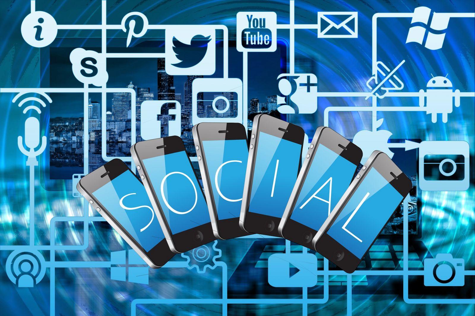 Social Media Logos banner image