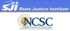 State Justice Institute / NCSC logo