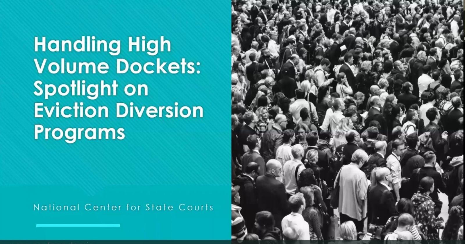 Spotlight on Eviction Diversion Programs banner image
