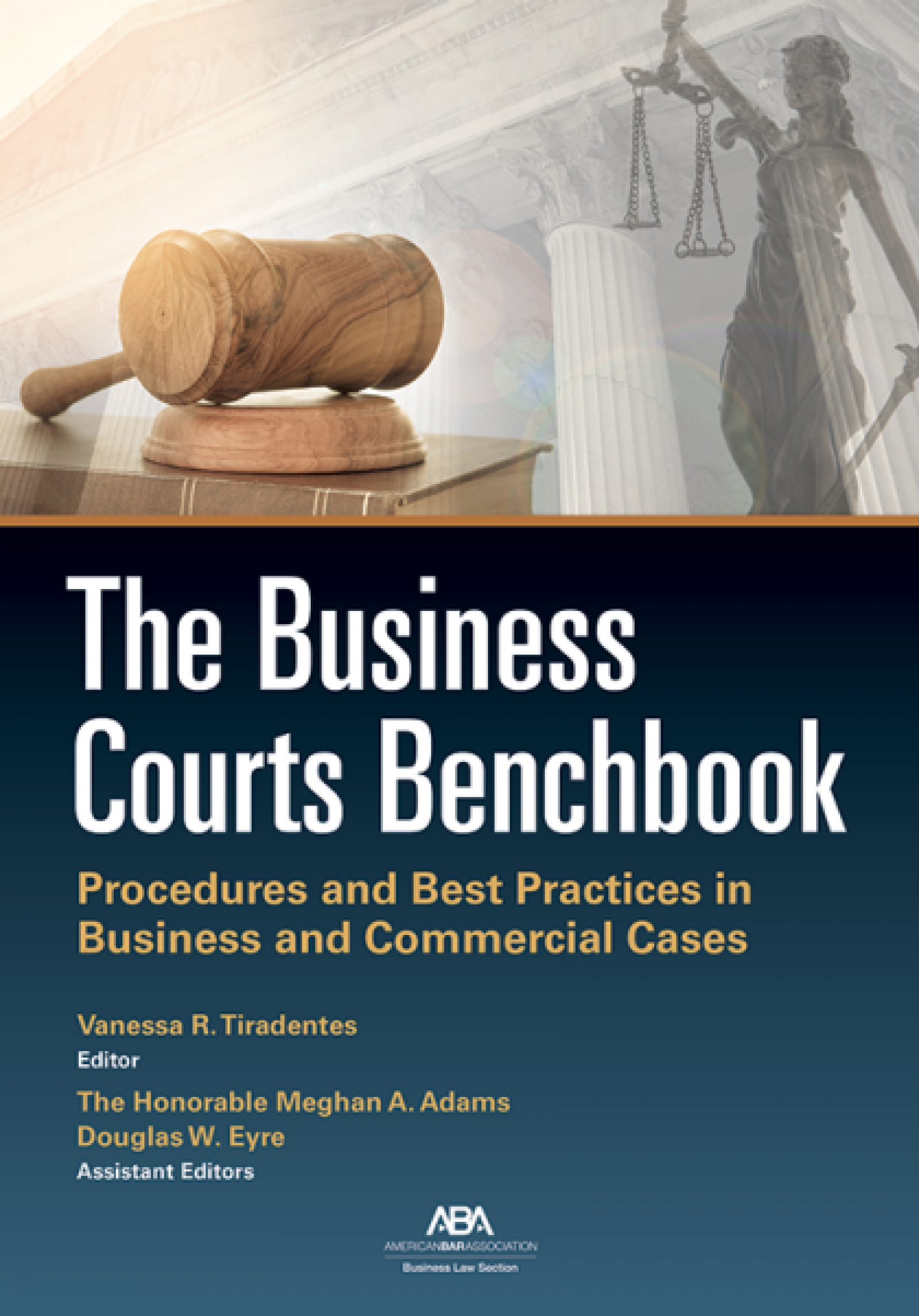 Business Courts Benchbook cover banner image