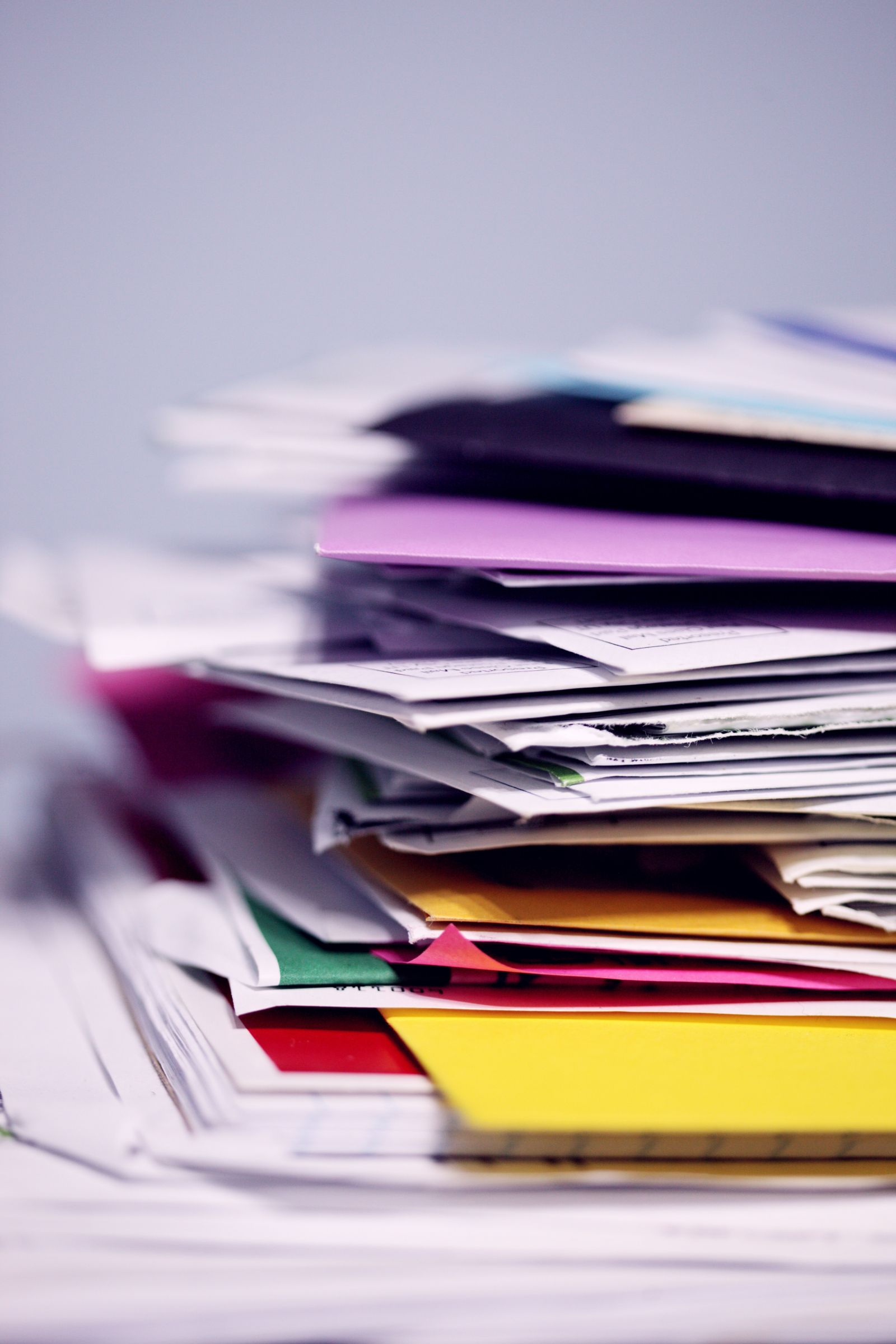 Stack of Papers banner image