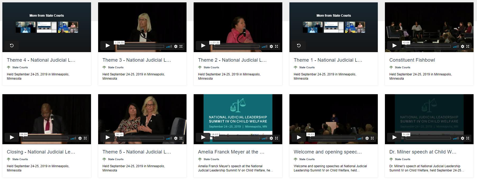 Judicial Summit Video image
