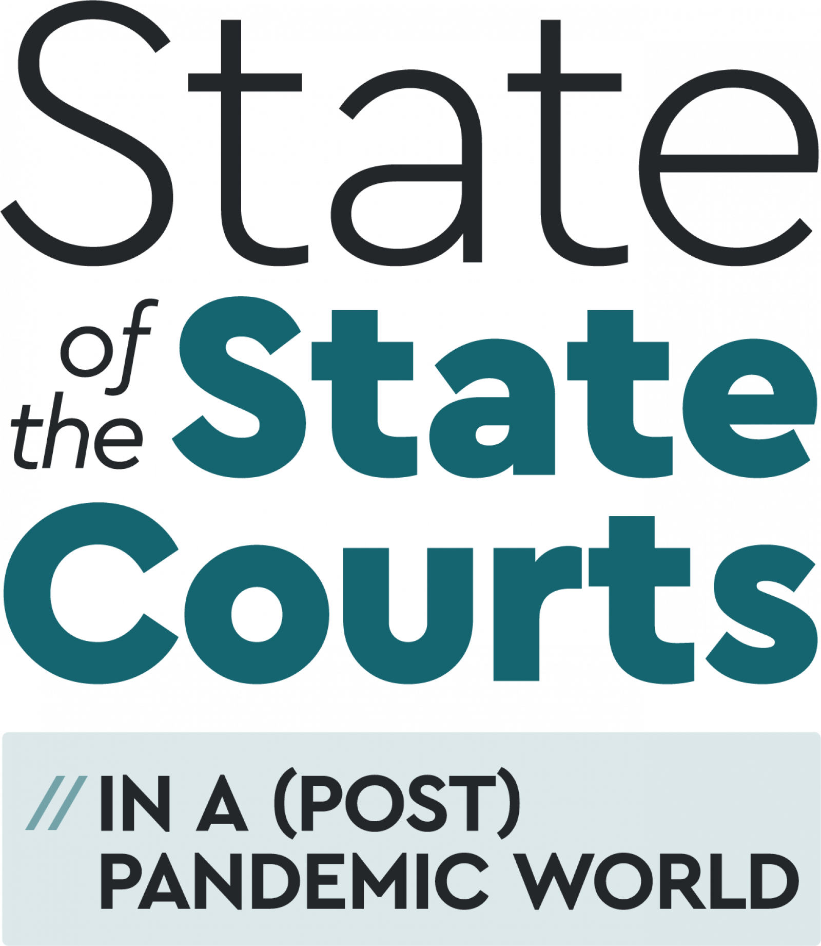 State of State Courts Pandemic banner image