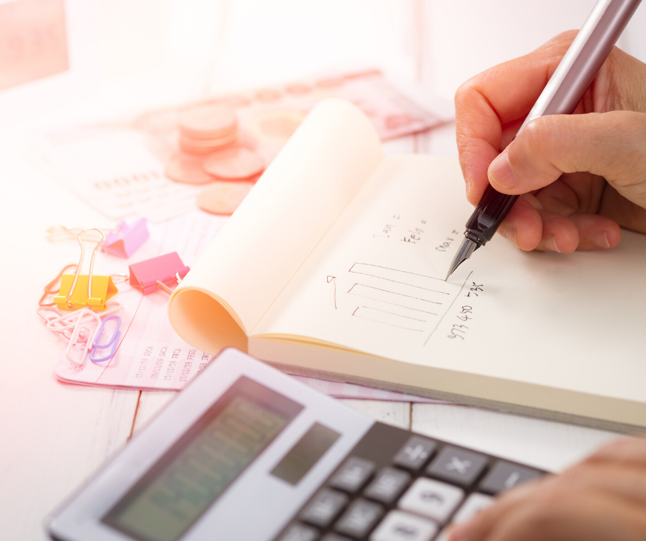 Calculator and paper