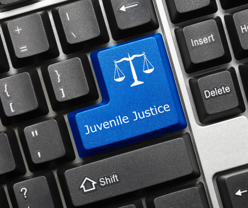 Juvenile Justice on keyboard