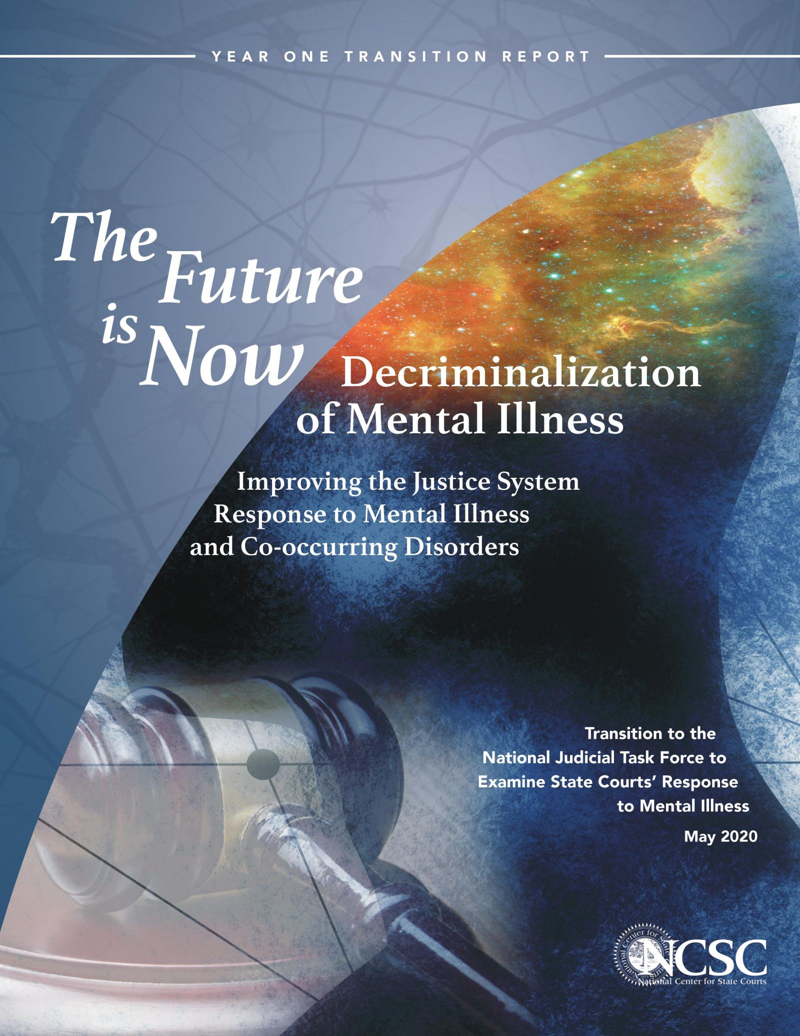 The Future is Now Decriminalization of Mental Illness Cover banner image