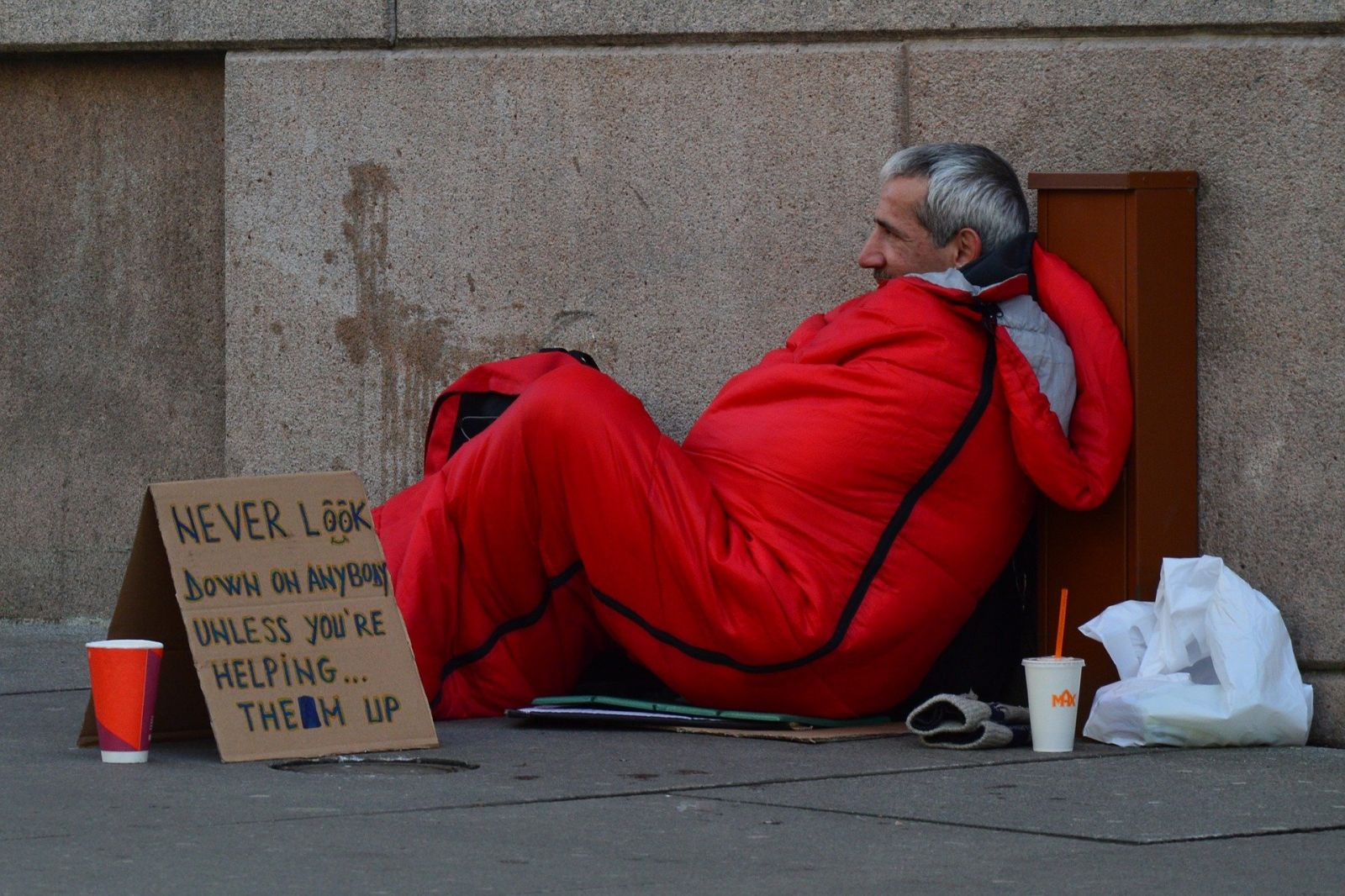 Homeless Man banner image