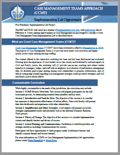 Implementation Teams Case Management