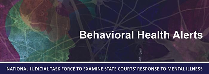 Behavioral Health Alert Banner